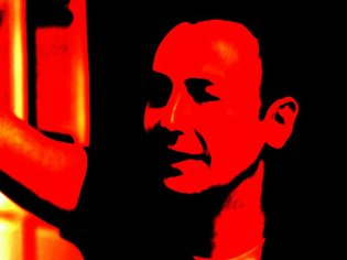 The Man with the Red Face abstract